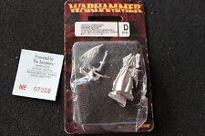 Juegos taller Warhammer elfos oscuros Elf Dreadlord temible Lord Nuevo Y En Caja Nuevo Metal fuera de imprenta