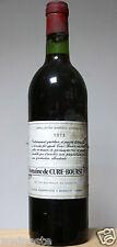 vin Bordeaux rouge Margaux 1973 Domaine de Cure Bourse  bouteille 75cl