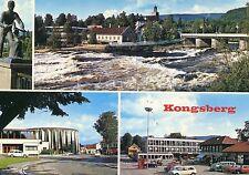 Alte Postkarte - Kongsberg
