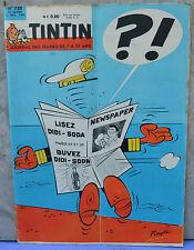 Journal Tintin n°735, 22 novembre 1962,  dessin de Fonske