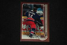 JEAN-LUC GRAND-PIERRE 2002-03 TOPPS SIGNED AUTOGRAPHED CARD #228 BLUE JACKETS