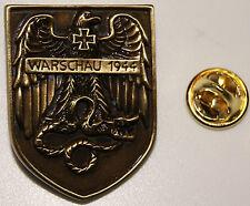 Warschau 1944 Adler Schlange Abzeichen Schild l Anstecker l Abzeichen l Pin 107