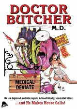 Doctor Butcher M.D. Zombie Holocaust DVD Severin 1980 Ian McCulloch MD