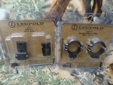 Remington 700 Leupold Scope Mount 2 pc STD Base Matte Medium