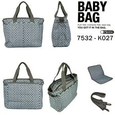 NWT - Lesportsac Ryan Baby Bag Tote w/ changing pad ~ blue dot ~~ great gift