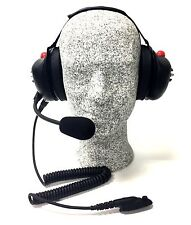 High Noise Headset for Motorola HT750, HT1250 Radio, Behind-the-head Model