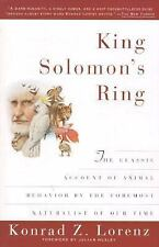 King Solomon's Ring: New Light on Animals' Ways-ExLibrary