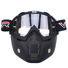 Anti Fog Motocross Goggles Full Face Mask Eyewear Helmet Racing Shield Dustproof