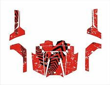 Polaris RZR RANGER 570 800 900 xp GRAPHICS DECALS WRAP DOORS UTV SIDE X  red