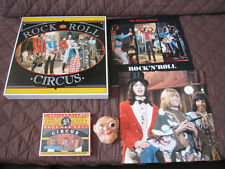 Rolling Stones Rock And Roll Circus CD w Box Book Clapton Lennon WHO Jethro Tull