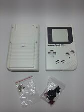 Carcasa de repuesto Gameboy Clasica DMG Nintendo Game Boy New white blanca NUEVA