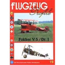 FLUGZEUG Profile Nr. 19 'Fokker V.5 / Dr. I'
