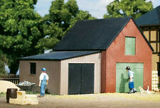 11408 Auhagen HO Kit of a small Warehouse with garage - C-10 Mint Brand New
