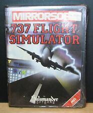 737 FLIGHT SIMULATOR - MSX - MIRRORSOFT 1984 Vintage  NUOVO NEW OLD STOCK SEALED