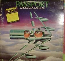 "12"" VERY RARE LP CROSS-COLLATERAL BY PASSPORT (1975) ATCO RECORDS PROMO SD36-107"