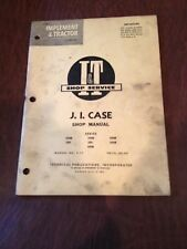 JI CASE I&T TRACTOR SHOP SERVICE REPAIR MANUAL BOOK 200B 300B 400B 600 500B 350