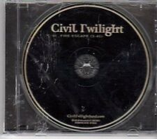 (CY607) Civil Twilight, Fire Escape - 2011 DJ CD