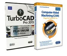 TurboCAD Pro 2015 Platinum with CAM Plug In