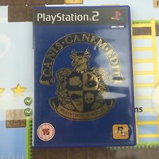 Canis canem edit bullworth academy-bully-SONY PLAYSTATION 2 PS2 game-mint