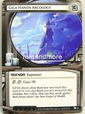 Android Netrunner LCG - 1x Gila Hands Arcology #023 - Overdrive Corporation Draf
