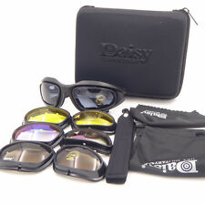 Daisy C5 Googles army SunGlasses 4 Lenses, Outdoor Hunting UV Sports Glasses
