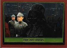 1999 Topps Star Wars Chrome Archives #72 The Deciders   Darth Vader