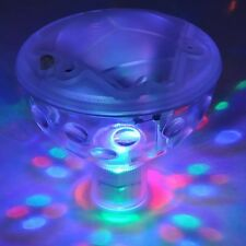 LED Underwater Floating Lamp Swiming Night Light Show Pool Pond Spa Tub Bulb