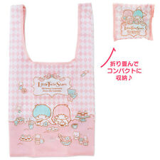 Sanrio Japan Little Twin Stars Foldable Shopping Bag Tote Bag