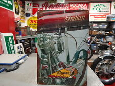 INDIAN OLD SINGLE MOTORCYCLE  SIGN PARTS & ACCESSORIES EC0156