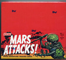 2012 Topps Heritage  Mars Attacks Card Box Factory Sealed Mars Attack