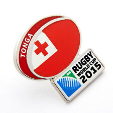 Rugby World Cup 2015 Tonga Flag Pin