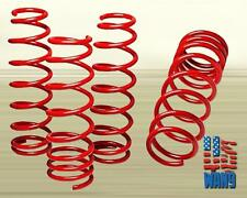 "06-11 Honda Civic Dx Si ExFD FG FK Suspension Lowering Springs Red 1.5"" Drop"