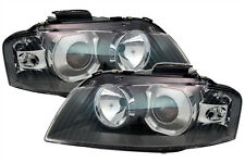 XENON H7 SET D2S headlight set front left right lights for AUDI A3 8P 03-05