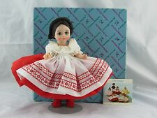 Madame Alexander Russia 574 International Vintage Doll, In Box with Stand