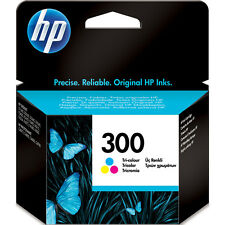 Genuine Original HP 300 Colour Ink Cartridge Deskjet F4280 F4580 F4583 CC643EE