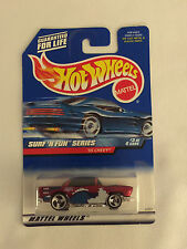 '55 CHEVY Surf 'n Fun - 1998 Hot Wheels Die Cast Car - Mint on Card