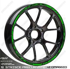 MOTORCYCLE RIM STRIPES WHEEL TAPE GREEN KAWASAKI Z 300