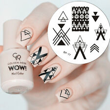 Space Muster Nail Art Stamping Schablonen Stempel Image BORN PRETTY BP77