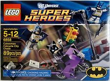 CATWOMAN CATCYCLE CITY CHASE Batman DC Universe Super Heroes Lego Set #6858 2012