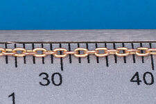 RB Model 134 02  High Quality, Very Strong Brass Chain 1.1x1.9 (1m) (1/35 scale)