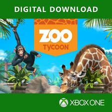 XBOX ONE GAME Zoo Tycoon Digital Download Code (no disc)
