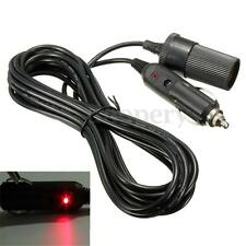 5M Car Cigarette Lighter Extension Cable Adapter Socket Charger Plug Lead 12v DC