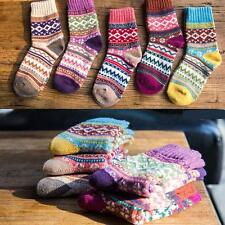 5 Pairs Lot Comfortable Soft Winter Warm Women Rabbit Wool Socks #I High Quality