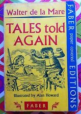 Tales Told Again by Walter de la Mare c1968, Good Vintage Paperback, England