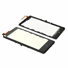 New Replace Black Touch Screen Glass Digitizer With Frame For Nokia Lumia 820