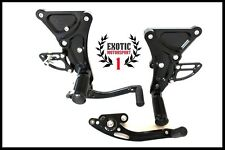 Racing CNC Adjustable Rearset  Rear Sets For Buell XB9S XB12S XB9R XB12R