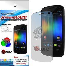4 Pellicola Opaca Per Samsung Galaxy Nexus Prime I9250 Antiriflesso Antimpronta