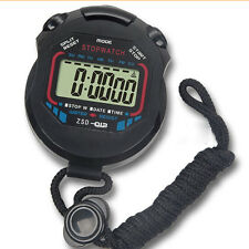 New Digital Handheld LCD Chronograph Timer Stopwatch Counter Stop Watch Alarm GP