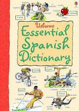 Essential Dictionary: Spanish by Nicole Irving (Usborne) New Book