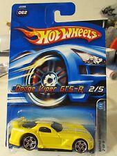 Hot Wheels Dodge Viper GTS-R #062 Yellow